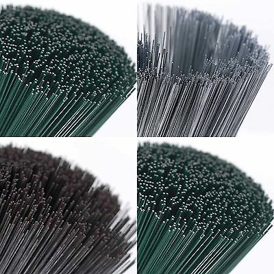 Green Rose Silver Galvanised Floral Stems Stub Wire 18 22 24 28 30 swg Gauge 7""