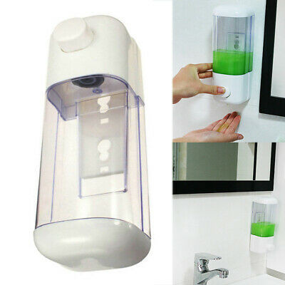 Clear Liquid Soap Dispenser Wall Mounted 500/1000ml Hand Sanitizer Shower