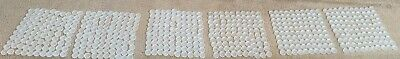 600 Clear/White Plastic Water Bottle Caps Lids Home School Craft Supplies