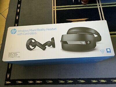 HP WINDOWS MIXED REALITY HEADSET WITH CONTROLLERS - As NEW