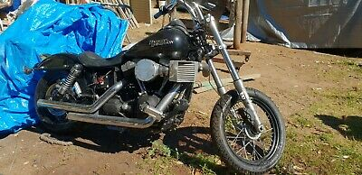Harley Davidson  Street Bob Fxdb Project Clear Title Can Be Regoed If Repaired