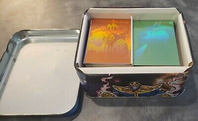 1992 Marvel Universe Series 3 Card Set w/ Collector Tin Complete Set Holograms