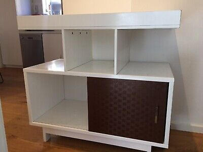 Baby Change Table With Shelves And Cupboard