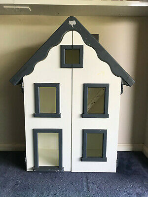 Handmade timber doll house