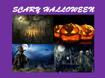 🎃 Scary Halloween Music Sound Effects 🧹 Cd 80 Mins 👻 Witches Wolves Ghosts