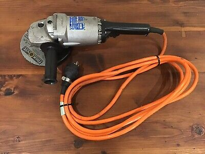 "Kosoku High Frequency Angle Grinder HGC-802, 180mm / 7"", 200v. Made in Japan."