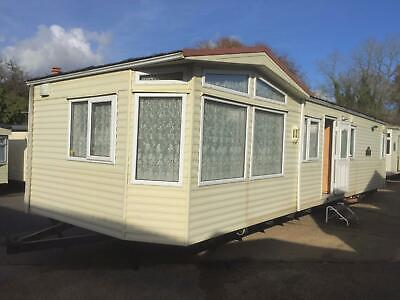 Willerby Aspen T Shape 37 X 12 2 Bed D/G Elec C/H  Free Delivery Up To 50 Miles