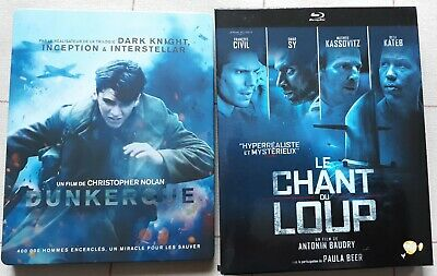 Le Chant Du Loup + Dunkerque Blu-Ray Comme Neuf
