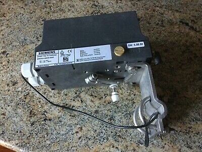 SIEMENS Sipart PS2 6DR5010-0NG00-0AA0 Valve Positioner with Mount & Handle