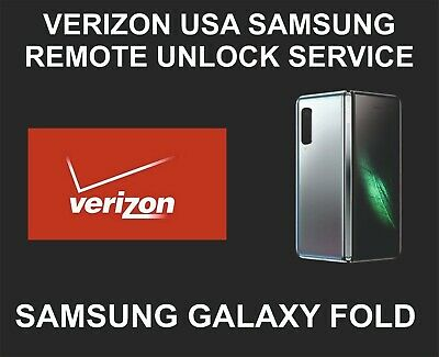 Verizon USA Network Remote Unlock Service, Samsung Galaxy Fold, F900, F900 5G