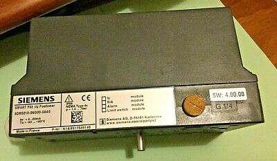 SIEMENS Sipart PS2 2 wire 6DR5010-0NG00-0AA0 Valve Positioner