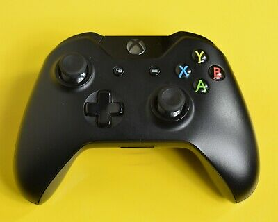 Genuine Microsoft Xbox One Controller Black XB1 Wireless Control Official