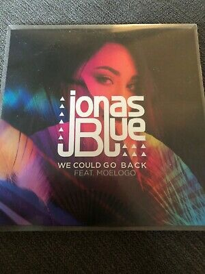 "Jonas Blue ""We Could Go Back"" Universal Records Brazil Official 12Remix Cd Promo"