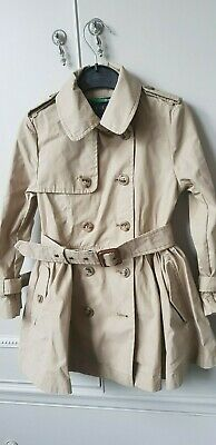 Polo Ralph Lauren Girls Classic Princess Trench Coat Raincoat Jacket 3 years old