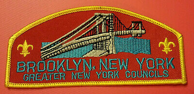 Brooklyn Greater New York Councils Council Shoulder Patch (CSP)