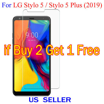 1x Clear LCD Screen Protector Guard Cover Film LG Stylo 5 / Stylo 5 Plus (2019)