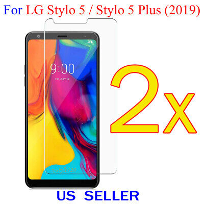 2x Clear LCD Screen Protector Guard Cover Film LG Stylo 5 / Stylo 5 Plus (2019)