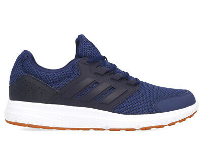 Adidas Men's Galaxy 4 Running Sports Shoes - Dark Blue/Legend Ink/Tech Copper