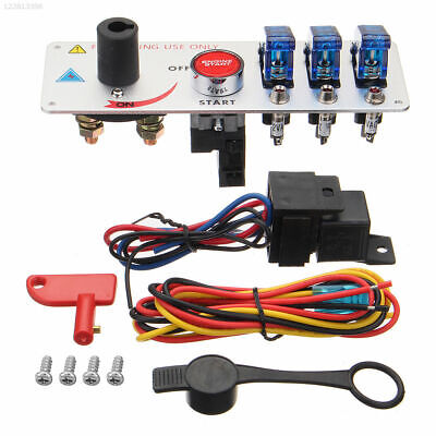Racing Car Ignition Switch Car Ignition Switch Plastic Button LED Engine Push