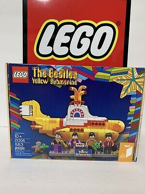 LEGO Ideas 21306 The Beatles Yellow Submarine Brand New In Box Sealed Retired