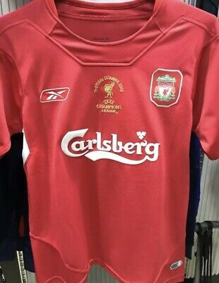RETRO Liverpool 2005 Shirt Xl GERRARD champions league Istanbul Football Xxl