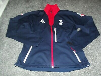 WOMENS Size 12 14 TEAM GB Athlete Issue Softshell Tracksuit Jacket Rio 2016 Top
