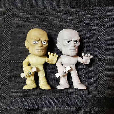 Funko Mystery Minis Universal Studios Monsters MUMMY B&W + color Lot of 2