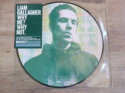 """Liam Gallagher (OASIS)   """"Why me? Why Not""""   Picture Disc Vinyl      NEW"""