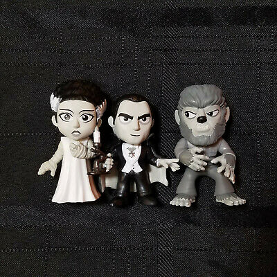 Funko Mystery Minis Universal Studios Monsters Walgreens Exclusive Lot of 3
