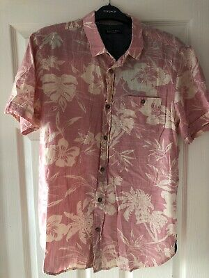 Brave Soul Hawaiian Print Shirt Medium Bnwt