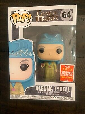 "Funko POP! ""Game of Thrones"" Olenna Tyrell (2018 Summer Convention) NEAR MINT"