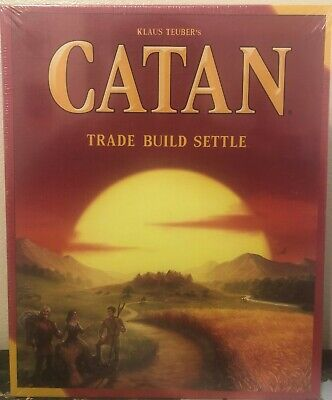 Catan (The Settlers of Catan) Board Game/New-Factory Sealed/Mayfair Games (1995)
