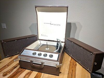 Vintage Westinghouse High Fidelity Stereo Record Player Model 57 ACS 2