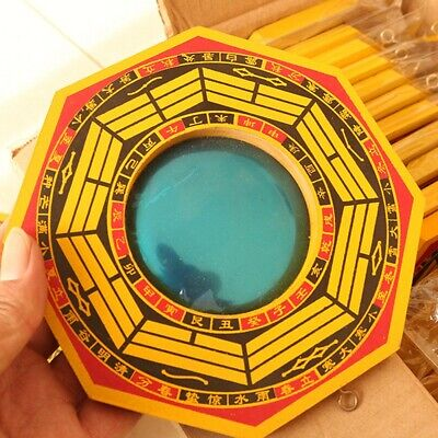 Hot Chinese Feng Shui Dent Convex Bagua Mirror Lucky Blessing House Protection
