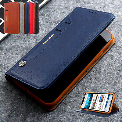 For iPhone 11 Pro Max Case XS XR 8 7 Luxury Magnetic Leather Wallet Stand Cover
