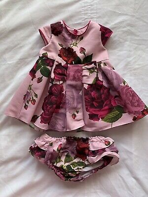 Ted Baker Baby Girl Dress 0-3 Months