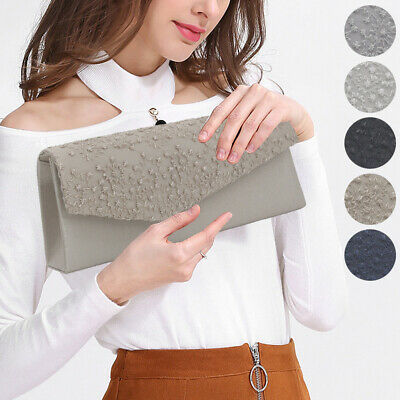 Women Flap Design Envelope Clutches Bag Wallet Lady Purse Party Evening Handbags