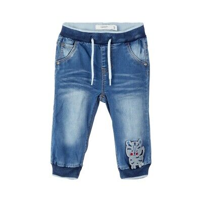 NAME IT Baby Jungen Powerstretch Jeans Babyjeans Jungenjeans Babyhose