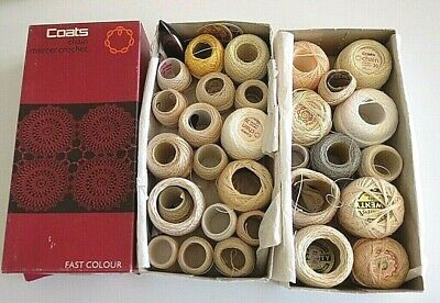 Vintage Coats Chain Mercer & Twilleys Crochet Cotton various colours and sizes