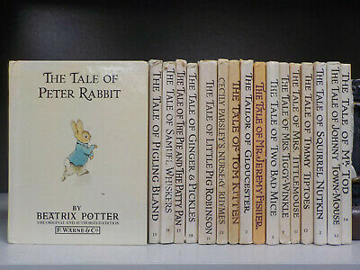 Beatrix Potter - Peter Rabbit - 17 Books Collection! (ID:5944)