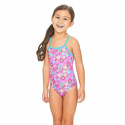 Zoggs Flora Yaroomba Floral Swimsuit Pink/Multi