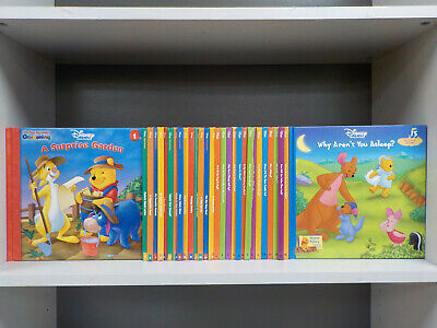 Disney Winnie-The-Pooh - 30 Books Collection! (ID:5966)