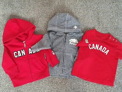 Baby Roots Jumpers, Sweaters & Tshirt. Unisex Canada Clothing Bundle