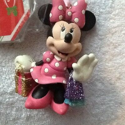 Disney Store Minnie Mouse Christmas Ornament