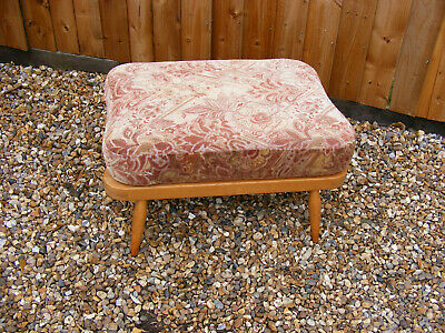 Vintage Retro Mid Century Ercol Footstool 341 Extension Stool for the 203 & 501