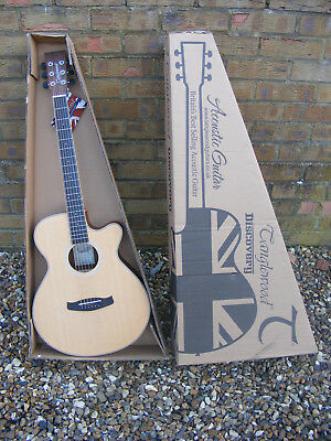New in Box Tanglewood Discovery DBT SFCE BW Electro-Acoustic Right Handed Guitar