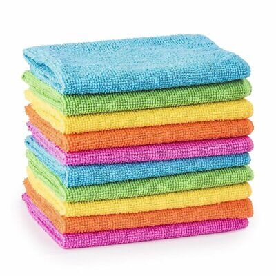 1x 3x 6x Pack Premium Microfibre Glass and Polishing Window Multi Cleaning Cloth
