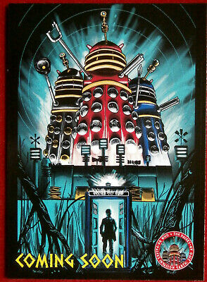 DR WHO & THE DALEKS - PROMO CARD PR1 - Unstoppable Cards 2014