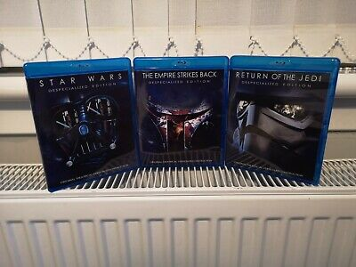 Original Star Wars Despecialized Trilogy. Deluxe Edition. Blu Ray. ONLY £21.95