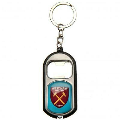West Ham United FC Torch Bottle Opener Key Rings Keyrings Xmas Gift New